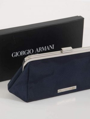 Giorgio Armani Navy Clutch Bag d9343ec20458e